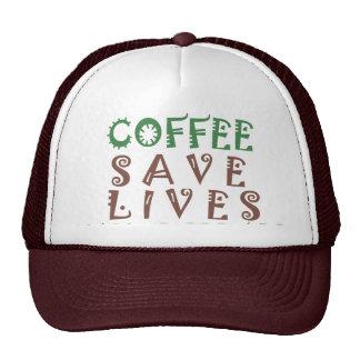 Hakuna Matata Coffee Saves Lives Trucker Hat