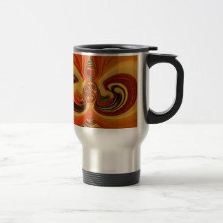 Hakuna Matata Cool Retro Vintage flowers design.jp Coffee Mugs