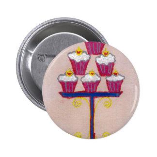 Hakuna matata cupcakes 2 inch round button