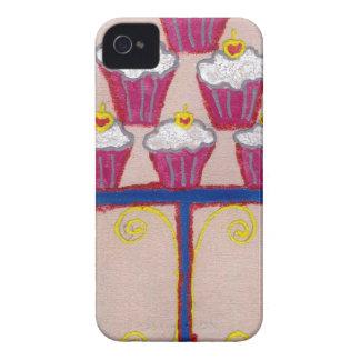 Hakuna matata cupcakes iPhone 4 Case-Mate case