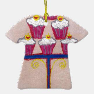 Hakuna matata cupcakes Double-Sided T-Shirt ceramic christmas ornament