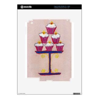 Hakuna matata cupcakes skins for the iPad 2