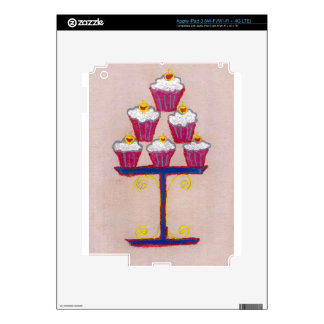 Hakuna matata cupcakes decals for iPad 3