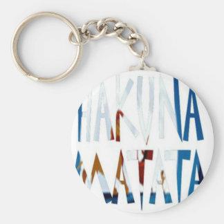 Hakuna matata custom cool keychain