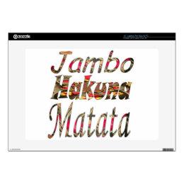 Hakuna Matata Customize Product - Customized Skin For Laptop