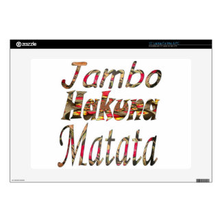 Hakuna Matata Customize Product - Customized Skin For Laptop