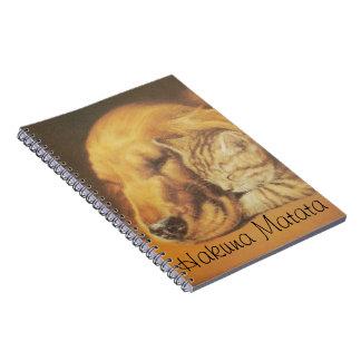 Hakuna Matata Customize Product Spiral Notebook