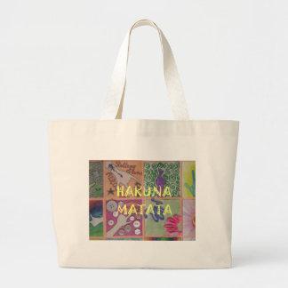 Hakuna Matata cute amazing work of art.png Large Tote Bag