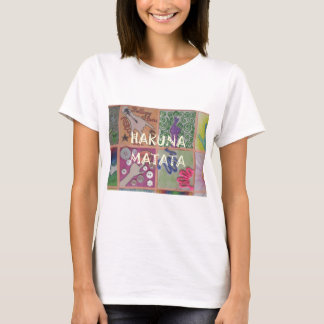 Hakuna Matata cute amazing work of art.png T-Shirt