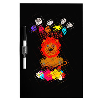 Hakuna Matata cute baby lion king design Dry Erase Board