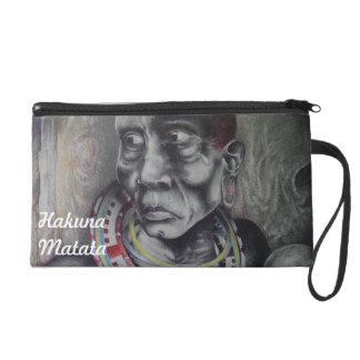 Hakuna Matata designs Wristlet Bagettes Bag