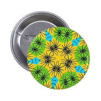 Hakuna Matata Elegant traditional Motif Vector Button