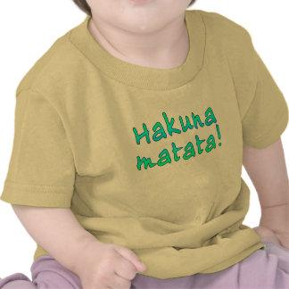 Hakuna Matata en las camisetas sudaderas con capu
