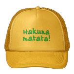Hakuna Matata en las camisetas, sudaderas con capu Gorros