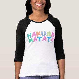 Hakuna Matata - Feminine Tee Shirt
