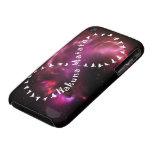 Hakuna Matata Forever on Pink Nebula iPhone 3 Cover