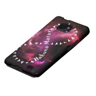Hakuna Matata Forever on Pink Nebula Galaxy SII Covers