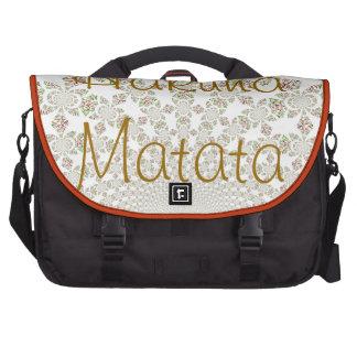 Hakuna Matata Funny Chic Laptop Bag