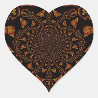 Hakuna Matata Gift Black Jamaica Pop Art. Heart Sticker