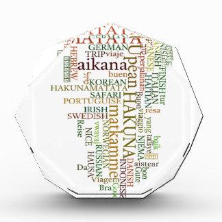 Hakuna Matata Gift Color Award