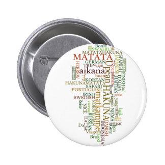 Hakuna Matata Gift Color Button