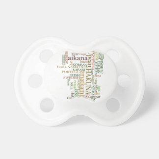 Hakuna Matata Gift Color Pacifier