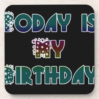 Hakuna Matata Gift Today is my Birthday.png Coaster