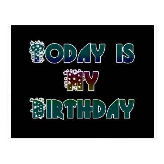 Hakuna Matata Gift Today is my Birthday.png Postcards