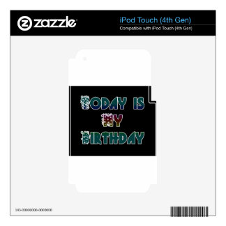 Hakuna Matata Gift Today is my Birthday.png Decal For iPod Touch 4G