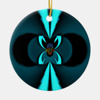 Hakuna Matata Gifts Blue Shield Ceramic Ornament