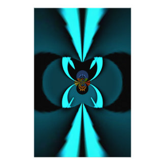 Hakuna Matata Gifts Blue Shield Stationery