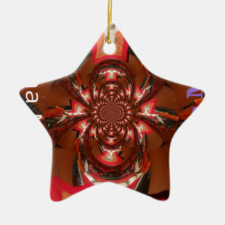 Hakuna Matata Gifts Haloween Special red Ceramic Ornament