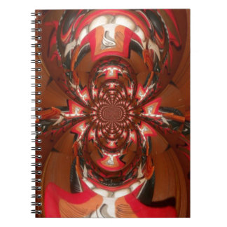 Hakuna Matata Gifts Haloween Special red Notebook