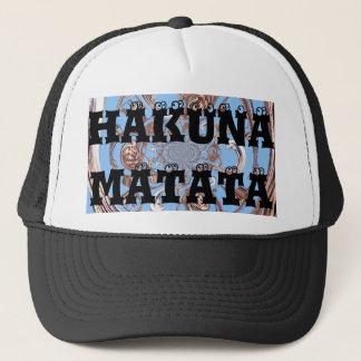 Hakuna Matata Gifts perfectly Customize Product Trucker Hat