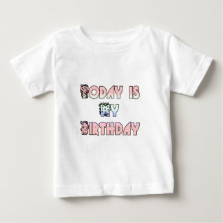 Hakuna Matata Gifts Today is my Birthday.png Baby T-Shirt