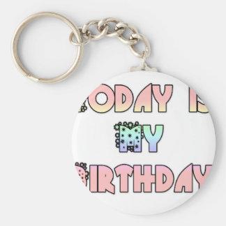 Hakuna Matata Gifts Today is my Birthday.png Keychain