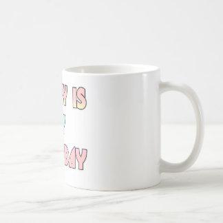 Hakuna Matata Gifts Today is my Birthday.png Coffee Mugs
