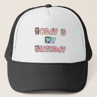 Hakuna Matata Gifts Today is my Birthday.png Trucker Hat