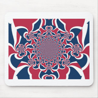 Hakuna Matata Gifts trendy stylish red and blue.jp Mouse Pad