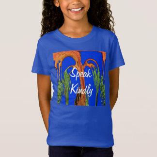 Hakuna Matata Girls' LAT Sportswear Fine Jersey T- T-Shirt