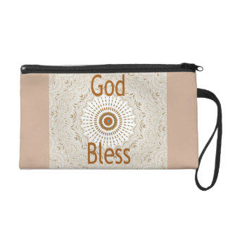 Hakuna Matata God Bless Wristlet