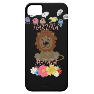 Hakuna Matata Hakunamatata baby lion.png iPhone SE/5/5s Case
