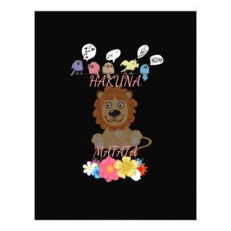 Hakuna Matata Hakunamatata baby lion.png Letterhead
