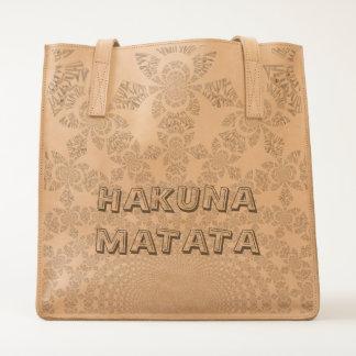 Hakuna Matata Hakunamatata gifts floral design Tote