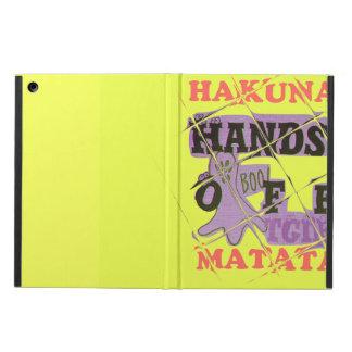 Hakuna Matata Hands Off Boo! iPad Case