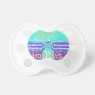 Hakuna Matata Happy Holidays Pacifier
