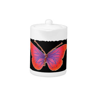 Hakuna Matata Have a Nice Day infinity Butterfly c Teapot