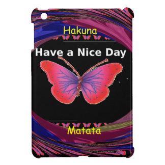 Hakuna Matata Have a Nice Day.png iPad Mini Cases