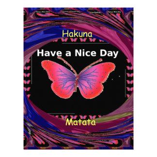Hakuna Matata Have a Nice Day.png Letterhead