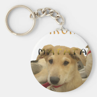 Hakuna Matata I know what you are thinking pinctur Keychain